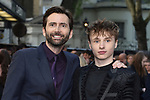 David Tennant and Ty Tennant attends the UK film premiere  of 'Tolkien' at the Curzon Mayfair in London, England. 29th April 2019<br /> CAP/JWP<br /> ©JWP/Capital Pictures