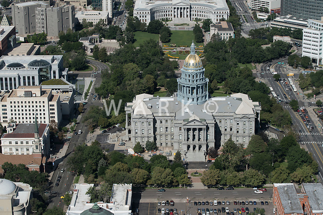 Colorado State Capitol Building; Denver.  Aug 20, 2014. 812868