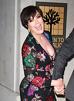 NEW YORK, NY - SEPTEMBER 8: Kris Jenner arriving to the Daily Front Row Fashion Awards at Four Seasons NY Downtown in New York City on September 8,  2017. <br /> CAP/MPI/RW<br /> &copy;RW/MPI/Capital Pictures