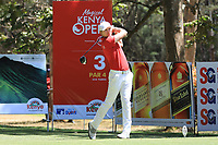 Lasse Jensen (DEN) in action during the final round of the Magical Kenya Open presented by ABSA played at Karen Country Club, Nairobi, Kenya. 17/03/2019<br /> Picture: Golffile | Phil Inglis<br /> <br /> <br /> All photo usage must carry mandatory copyright credit (&copy; Golffile | Phil Inglis)