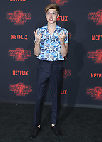 """WESTWOOD - OCTOBER 26: Ricky Garcia at the premiere of Netflix's """"Stranger Things"""" Season 2 at the Regency Village Theatre on October 26, 2017 in Westwood, California. (Photo by Scott Kirkland/PictureGroup)"""