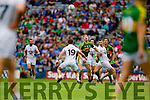 Tommy Walsh Kerry in action against Fergal Conway,  Kildare in the All Ireland Quarter Final at Croke Park on Sunday.