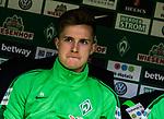 15.04.2018, Weserstadion, Bremen, GER, 1.FBL, Werder Bremen vs RB Leipzig, <br /> <br /> im Bild | picture shows:<br /> Johannes Eggestein (SV Werder Bremen #24), <br /> <br /> <br /> Foto &copy; nordphoto / Rauch