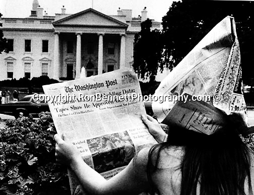Girl Reads Washington Post In Front Of White House About Senate  Girl Reads Washington Post In Front Of White House About Senate Watergate  Committee Which Revealed That Essay Thesis Statement Examples also Animal Testing Essay Thesis  Romeo And Juliet English Essay