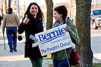 Scene Outside Bernie Sanders Rally West Allis Wisconsin 3-29-16