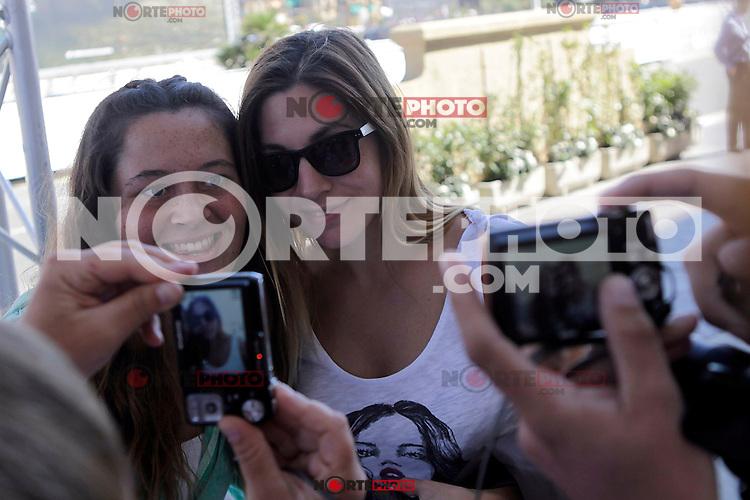 Singer Leire Martinez arrives to Maria Cristina hotel during the 61 San Sebastian Film Festival, in San Sebastian, Spain. September 22, 2013. (ALTERPHOTOS/Victor Blanco) /NortePhoto /NortePhoto