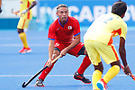 Kenta Tanaka (JPN), <br /> AUGUST 20, 2018 - Hockey : <br /> Men's Group A match <br /> between Japan 11-0 Sri Lanka <br /> at Gelora Bung Karno Hockey Field <br /> during the 2018 Jakarta Palembang Asian Games <br /> in Jakarta, Indonesia. <br /> (Photo by Naoki Morita/AFLO SPORT)