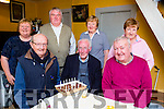 Tadgh Doody, Mangerton road, Muckross who celebrated his 90th birthday with his friends and family at his home on Monday night front row l-r: Ted O'Shea, Tadgh Doody, Noel Wade. Back row: Tim doona, Sheila Doona, Cecilia O'Shea, Teresa Lyne