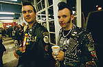 Two modern rockers drinking coffee in the Ace. <br />