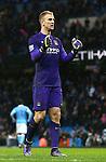 Joe Hart of Manchester City celebrates victory - Manchester City vs Swansea - Barclays Premier League - Etihad Stadium - Manchester - 12/12/2015 Pic Philip Oldham/SportImage