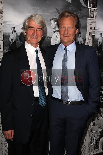 Sam Waterston, Jeff Daniels<br /> at &quot;The Newsroom&quot; Season 2 Premiere, Paramount Studios, Hollywood, CA 07-10-13<br /> David Edwards/Dailyceleb.com 818-249-4998