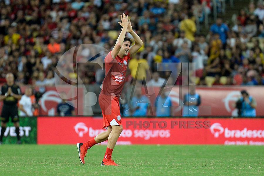RIO DE JANEIRO, RJ, 27.12.2018 - FUTEBOL-ZICO - Kaká durante 15º Jogo das Estrelas no estádio do Maracanã no Rio de Janeiro, nesta quinta-feira, 27. (Foto: Clever Felix/Brazil Photo Press)