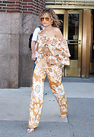 NEW YORK, NY - JULY 17: Rita Ora seen exiting Z100 studios in New York City on July 17, 2017. Credit: RW/MediaPunch