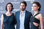 Actress Gabriela de la Zarza, actor Guillermo Amoedo and actress Vanessa Restrepo attends to red carpet during the presentation of film 'El Habitante' at Sitges Film Festival in Barcelona, Spain October 09, 2017. (ALTERPHOTOS/Borja B.Hojas)