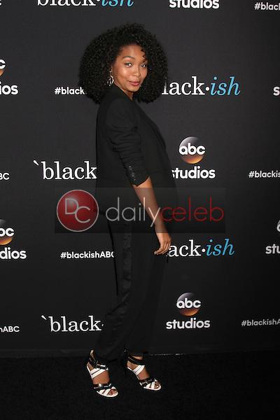 "Yara Shahidi<br /> at the  ""Black-ish"" ATAS Event, Pacific Design Center, West Hollywood, CA 04-17-15<br /> Dave Edwards/DailyCeleb.com 818-249-4998"