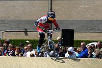 ASSEN - Wielersport, NK BMX, Stadsbroek,  02-07-2017,  Elite dames Laura Smulders gaat voor de titel