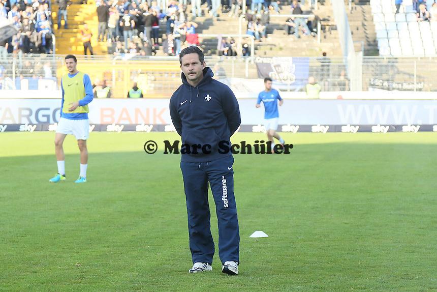 Trainer Dirk Schuster (SV 98) - SV Darmstadt 98 vs. Armina Bielefeld, Stadion am Böllenfalltor