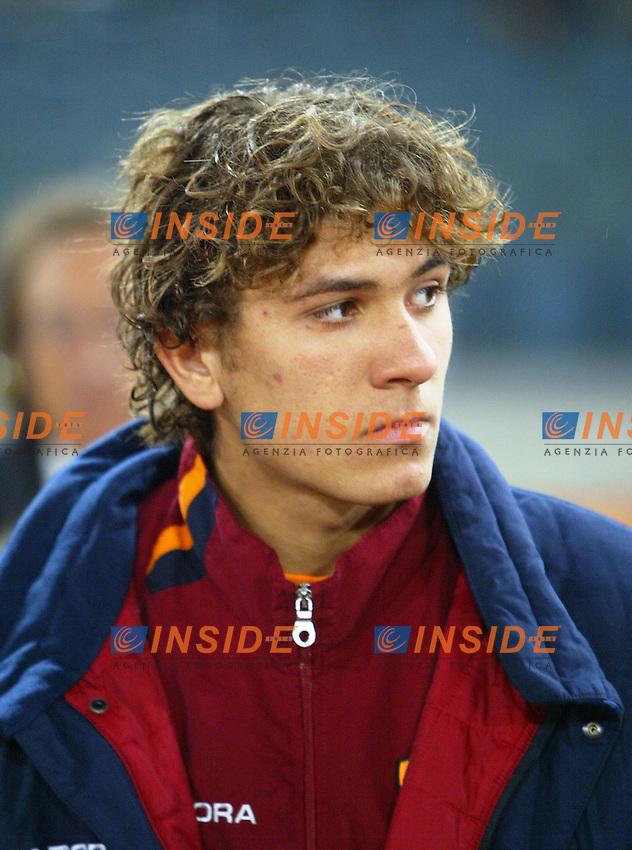 Roma 4 Dicermbre 2003 Coppa Italia<br /> <br /> Roma Palermo<br /> <br /> Alessio Cerci, giovane della primavera<br /> <br /> Foto Andrea Staccioli Insidefoto