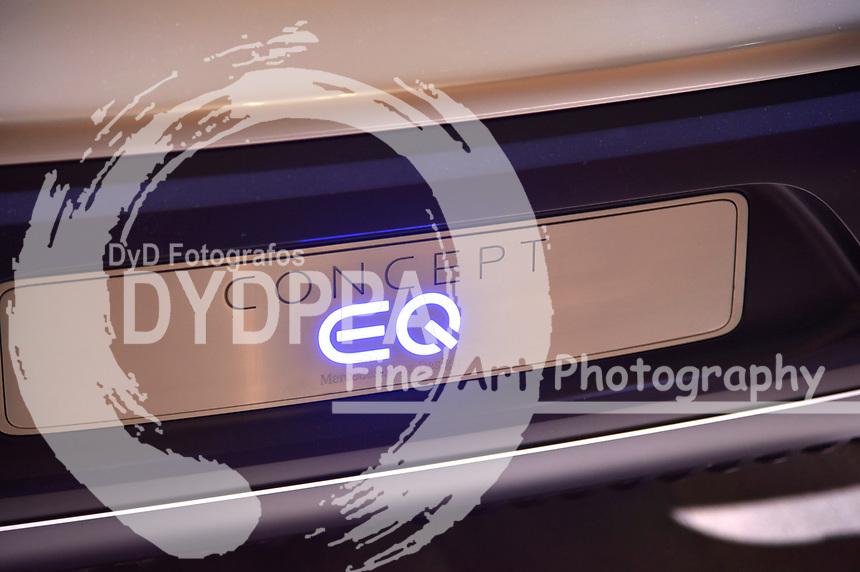 Mercedes Concept EQ auf der Internationalen Automobil-Ausstellung 2017 auf dem Messegelände. Frankfurt am Main, 12.09.2017