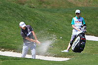 Stephen Gallacher (SCO) on the 1st during Round 1 of the HNA Open De France at Le Golf National in Saint-Quentin-En-Yvelines, Paris, France on Thursday 28th June 2018.<br /> Picture:  Thos Caffrey | Golffile