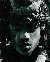 Sadhu (Wanderheiliger), Indien 1974