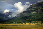 Storm clearing from Lamar Valley, Yellowstone