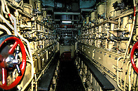 Engine room of the Akademik Shuleykin, cruise ship, Antarctica
