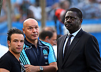 31st March 2020, France; It has been announced that Pape Diouf, ex-President of League 1 football club in France has died from Covid-19 Coroma Virus.  Pape Diouf and Sports director Jose Anigo Mitte