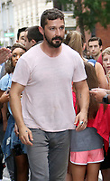 August  07, 2019.Shia LaBeouf at Build Series to talk about new movie The Peanut Butter Falcan in New York. August 07, 2019  <br /> CAP/MPI/RW<br /> ©RW/MPI/Capital Pictures