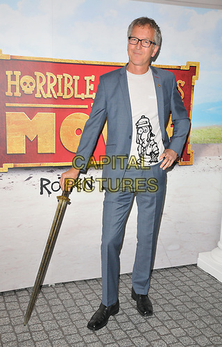 """Martin Brown at the """"Horrible Histories: The Movie - Rotten Romans"""" world film premiere, Odeon Luxe Leicester Square, Leicester Square, London, England, UK, on Sunday 07th July 2019.<br /> CAP/CAN<br /> ©CAN/Capital Pictures"""