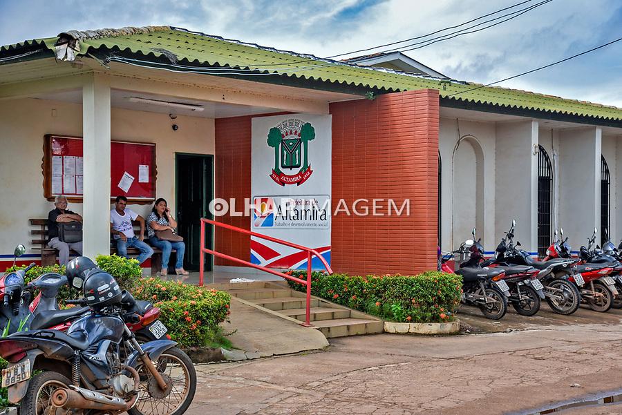 Prefeitura Municipal, Altamira. Para. 2017. Foto Luciana Whitaker