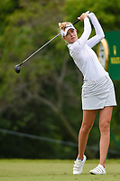 Nelly Korda (USA) watches her tee shot on 10 during round 4 of the KPMG Women's PGA Championship, Hazeltine National, Chaska, Minnesota, USA. 6/23/2019.<br /> Picture: Golffile | Ken Murray<br /> <br /> <br /> All photo usage must carry mandatory copyright credit (© Golffile | Ken Murray)