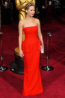 HOLLYWOOD, CA, USA - MARCH 02: Jennifer Lawrence at the 86th Annual Academy Awards held at Dolby Theatre on March 2, 2014 in Hollywood, Los Angeles, California, United States. (Photo by Xavier Collin/Celebrity Monitor)
