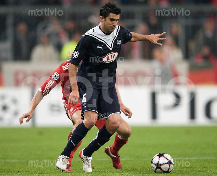 Fussball Uefa Champions League FC Bayern Muenchen - FC Girondins Bordeaux FERNANDO (Bordeaux).