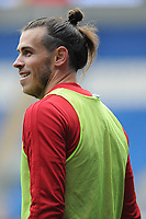 Gareth Bale in action during the Wales Training Session at the Cardiff City Stadium in Cardiff, Wales, UK. Thursday 15 November 2018