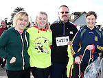 Cassie Boylan, Aoife, Paul and Jennifer Brady pictured at the Wild Goose Chase at Reaghstown. Photo:Colin Bell/pressphotos.ie