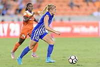 Houston, TX - Saturday July 22, 2017: Rosie White during a regular season National Women's Soccer League (NWSL) match between the Houston Dash and the Boston Breakers at BBVA Compass Stadium.