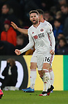 Oliver Norwood of Sheffield Utd celebrates the win on the final whistleduring the Premier League match at Selhurst Park, London. Picture date: 1st February 2020. Picture credit should read: Paul Terry/Sportimage
