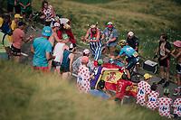 Alejandro Valverde (ESP/Movistar) up the last climb of the 2018 Tour: the Col d'Aubisque (HC/1709m/16.6km@4.9%)<br /> <br /> Stage 19: Lourdes > Laruns (200km)<br /> <br /> 105th Tour de France 2018<br /> ©kramon