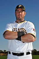 Feb 28, 2010; Bradenton, FL, USA; Pittsburgh Pirates  outfielder Ryan Church (19) during  photoday at Pirate City. Mandatory Credit: Tomasso De Rosa/ Four Seam Images