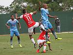 Jaguares igualó 0-0 ante Independiente Santa Fe. Cuartos de final ida Liga Águila II-2017.