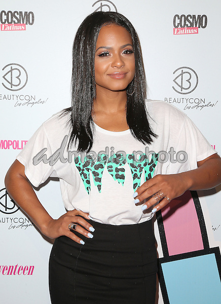 11 July 2015 - Los Angeles, California - Christina Milian. 4th Annual BeautyCon LA Festival held at The Reef DTLA. Photo Credit: F. Sadou/AdMedia