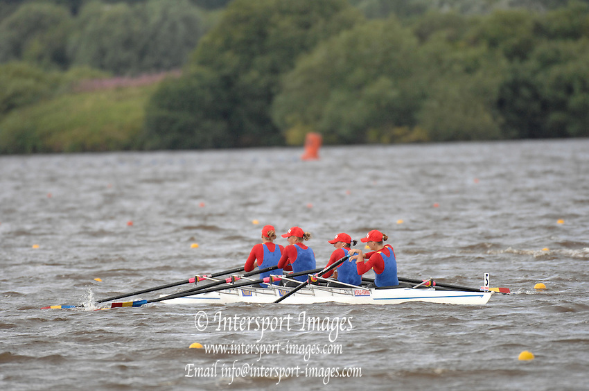 Motherwell, SCOTLAND.   at the  2007 FISA U23 World Championship Regatta, Strathclyde Country Park, North Lanarkshire 28/07/2007 [Mandatory credit Peter Spurrier/ Intersport Images]