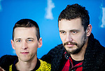 Actor James Franco and Justin Kelly promotes his film I am Michael during the LXV Berlin film festival, Berlinale at Potsdamer Straße in Berlin on February 9, 2015. Samuel de Roman / Photocall3000 / Dyd fotografos-DYDPPA.