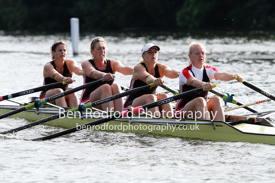 W.MasC.4x- SF -  Berks: 186 Mortlake Anglian &amp; Alpha RC -  Bucks: 187 Bewdley RC<br /> <br /> Friday - Henley Masters Regatta 2016<br /> <br /> To purchase this photo, or to see pricing information for Prints and Downloads, click the blue 'Add to Cart' button at the top-right of the page.