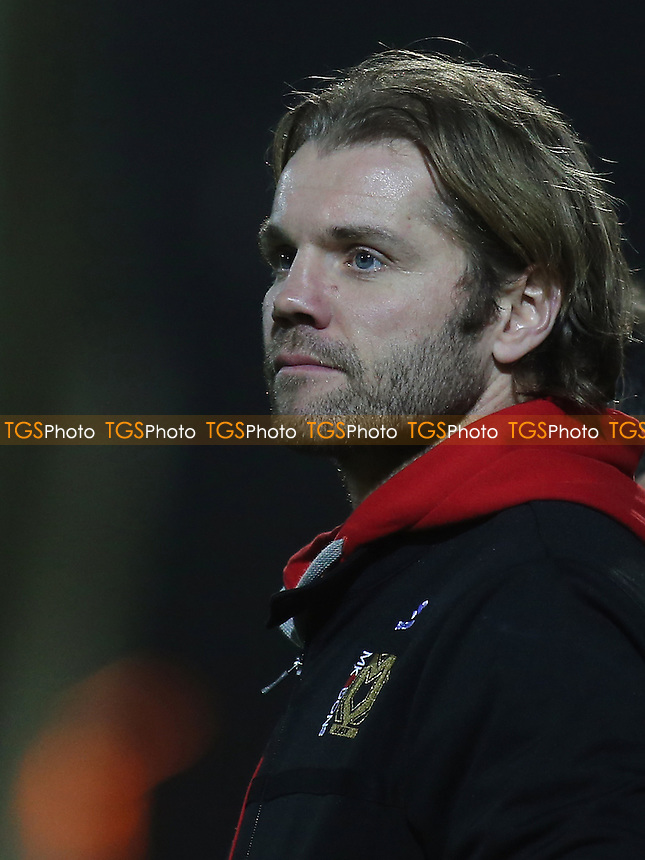 MK Dons Manager, Robbie Neilson during Yeovil Town vs MK Dons, Checkatrade Trophy Football at Huish Park on 6th December 2016