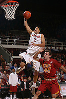 STANFORD, CA - JANUARY 6:  Landry Fields of the Stanford Cardinal during Stanford's 54-53 win over the USC Trojans on January 6, 2009 at Maples Pavilion in Stanford, California.
