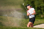 TAOYUAN, TAIWAN - OCTOBER 26:  Paula Creamer of USA plays a bunker shot on the 15th hole during the day two of the Sunrise LPGA Taiwan Championship at the Sunrise Golf Course on October 26, 2012 in Taoyuan, Taiwan. Photo by Victor Fraile / The Power of Sport Images