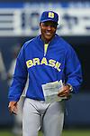 Barry Larkin Head Coach (BRA), .February 26, 2013 - WBC : .2013 World Baseball Classic, Exhibithion Game .match between Brazil 2-6 ORIX Buffaloes .at Kyocera Dome, Osaka, Japan..(Photo by AJPS/AFLO SPORT)