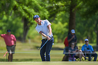 Jonas Blixt (SWE) chips on to 7 during Round 1 of the Zurich Classic of New Orl, TPC Louisiana, Avondale, Louisiana, USA. 4/26/2018.<br /> Picture: Golffile | Ken Murray<br /> <br /> <br /> All photo usage must carry mandatory copyright credit (&copy; Golffile | Ken Murray)